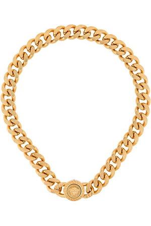 VERSACE Medusa chainlink necklace - Metallic