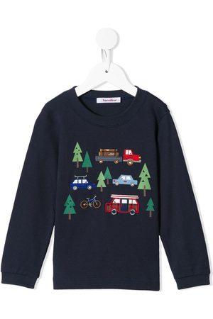 Familiar Tree print sweatshirt