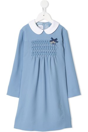 Familiar Smock panel dress