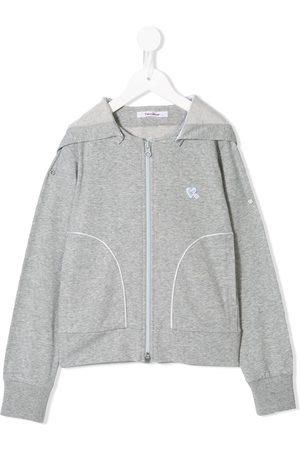 Familiar Full-zip hoodie - Grey