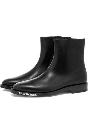 Balenciaga Logo Sole Chelsea Boot