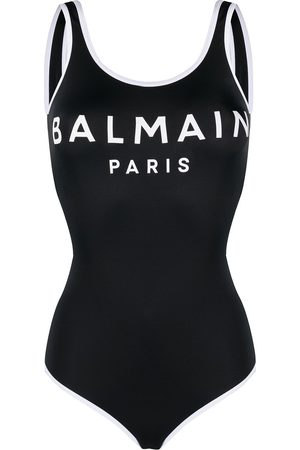 Balmain One-piece logo swimsuit