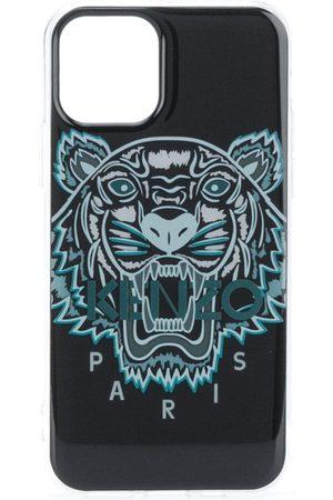 Kenzo Men Phones Cases - Tiger print iPhone 11 pro case