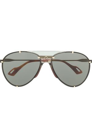 Gucci Aviator-frame sunglasses - Grey