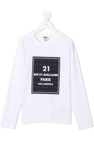 Karl Lagerfeld Rue St-Guillaume long-sleeved top