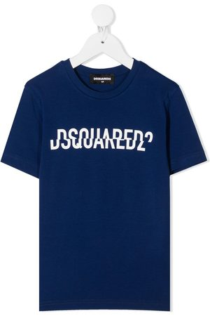 Dsquared2 Split logo print T-shirt
