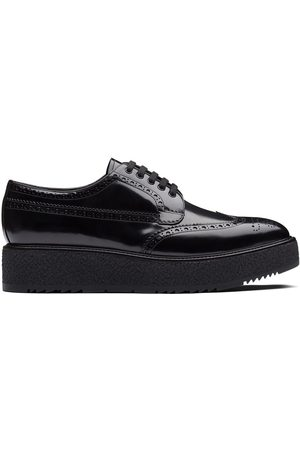 Prada Brushed leather brogues