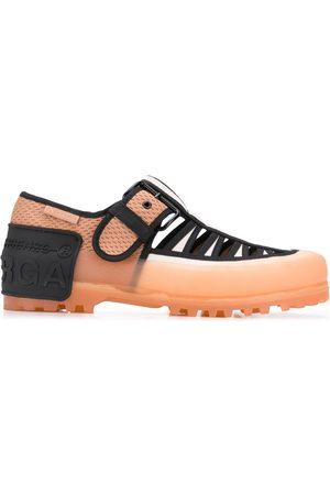 MARCO DE VINCENZO Cut-out sandals - Multicolour