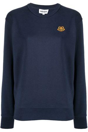 Kenzo Logo patch detail sweatshirt