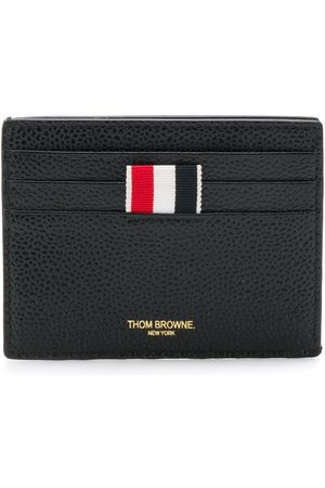Thom Browne Men Wallets - Rwb Edge Stain Double-sided Cardholder