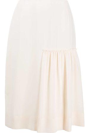 Salvatore Ferragamo Gathered-detail midi skirt