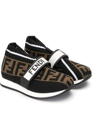 Fendi Fendi Love touch strap sneakers