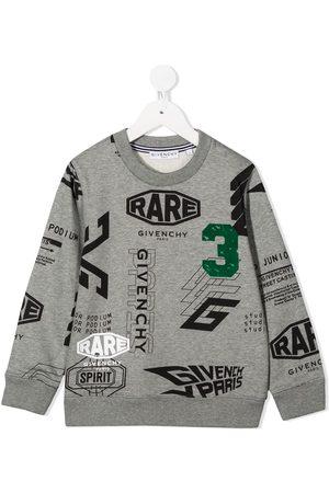 Givenchy All-over logo sweatshirt - Grey