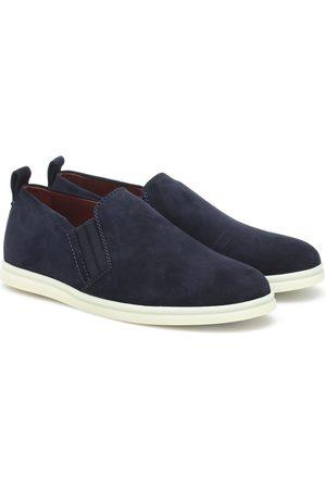 Loro Piana Cocoon Walk suede loafers