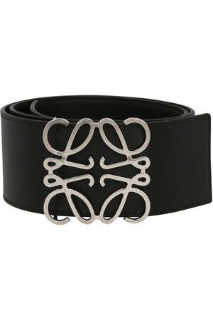 Loewe Women Belts - Anagram wide belt