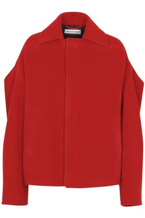 Balenciaga Women Peacoats - Upside down peacoat