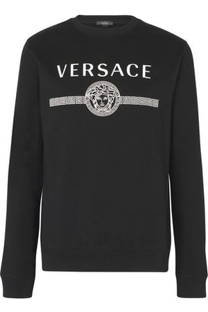 VERSACE Men Sweatshirts - Classic logo sweat-shirt