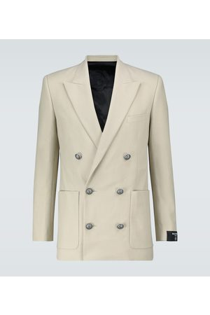 Balmain Exclusive to Mytheresa - double-breasted cotton blazer
