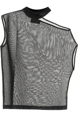 RTA Axel lurex mesh top