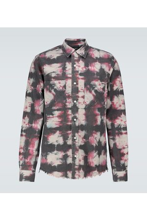 AMIRI Tie-dyed long-sleeved shirt