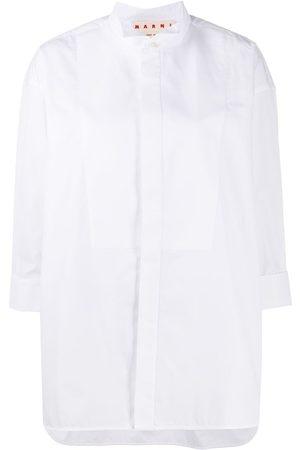 Marni Wingtip-collar button-up shirt