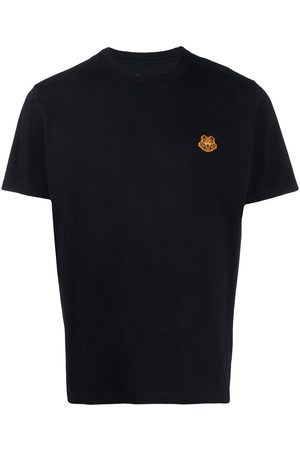 Kenzo Tiger motif crew neck T-shirt