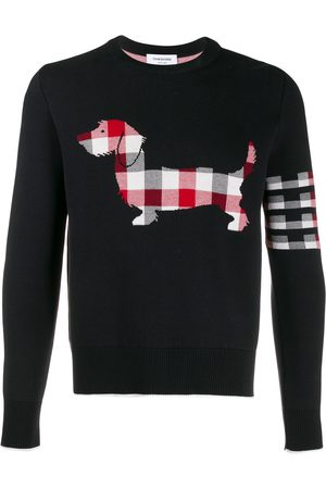 Thom Browne Hector Icon jacquard jumper