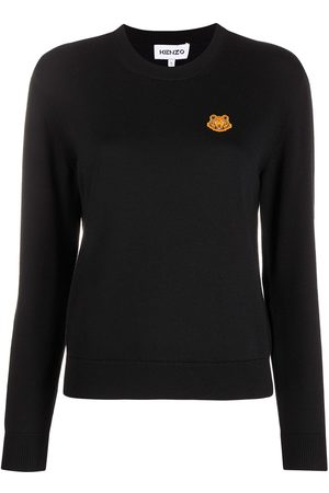 Kenzo Tiger-embroidered jumper
