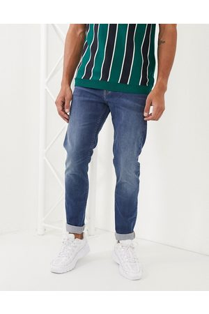 Lee Jeans Malone skinny jeans in wash-Navy