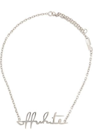 Off-White Women Necklaces - Lettering logo necklace