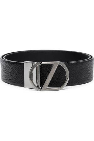 Ermenegildo Zegna Z buckle leather belt