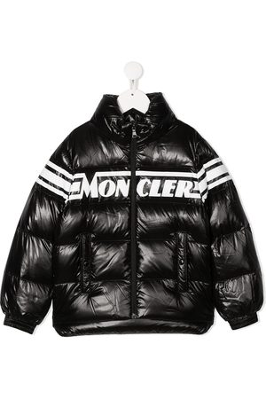 Moncler Boys Puffer Jackets - Logo puffer jacket
