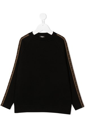 Fendi FF-trim sweatshirt