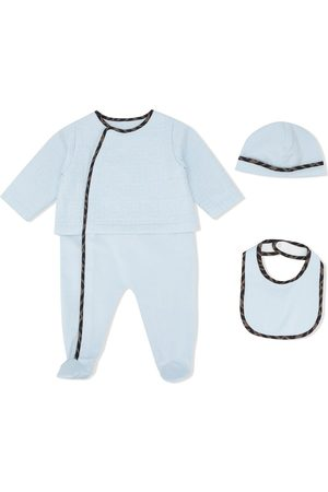 Fendi FF-trim three-piece set