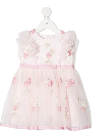 MONNALISA Baby Dresses - Embroidered balloons dress