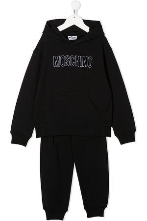 Moschino Logo sweatshirt set