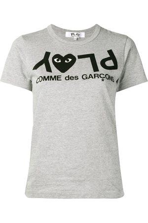 Comme des Garçons Reverse printed T-shirt - Grey