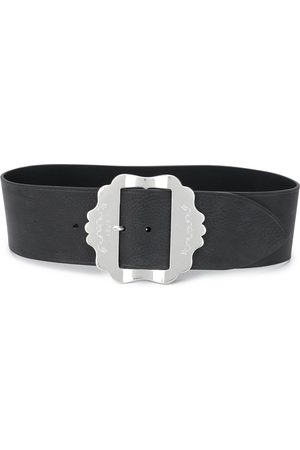 Isabel Marant Engraved buckle belt