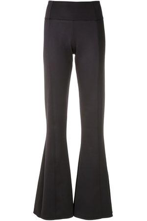 AMIR SLAMA Panelled flared trousers