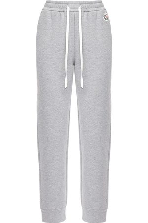 Moncler Cotton Jersey Track Pants