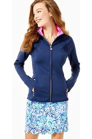 Lilly Pulitzer Women Accessories - UPF 50+ Luxletic Tennison Full-Zip Jacket