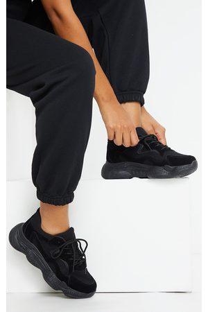 PRETTYLITTLETHING Double Bubble Sole Lace Up Sneaker