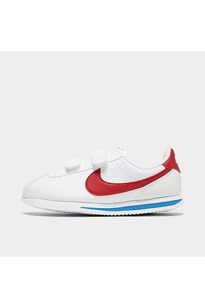Nike Boys' Little Kids' Cortez Basic SL Casual Shoes in Size 13.0 Leather