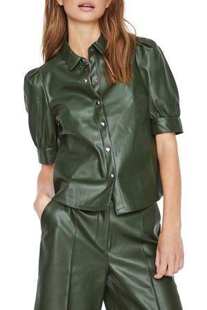 Vero Moda Women's Paulina Snap Front Shirt