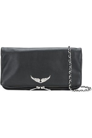 Zadig & Voltaire Foldover zipped clutch