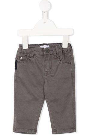 Emporio Armani Mid-rise slim jeans - Grey