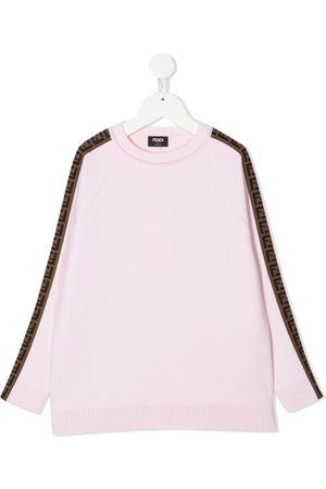 Fendi Sweaters - FF-trim jumper