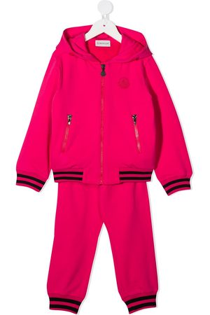 Moncler Girls Tracksuits - Logo plaque tracksuit