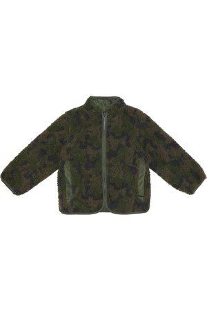 Stella McCartney Faux shearling reversible jacket
