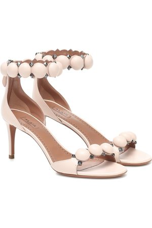 Alaïa Bombe 75 leather sandals